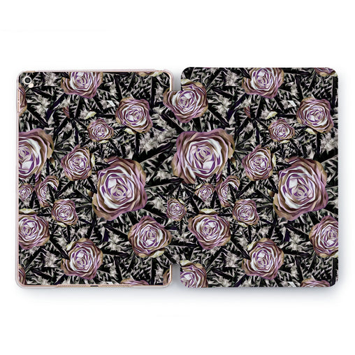 Lex Altern Black Rose Case for your Apple tablet.