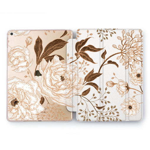 Lex Altern Autumn Flora Case for your Apple tablet.