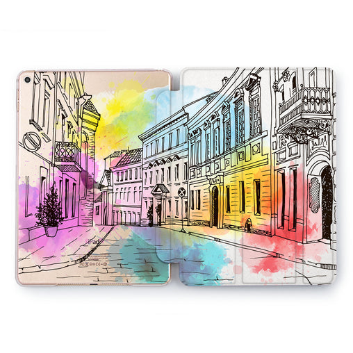 Lex Altern Colored City Case for your Apple tablet.