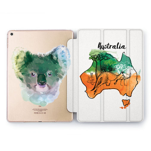 Lex Altern Australian Koala Case for your Apple tablet.