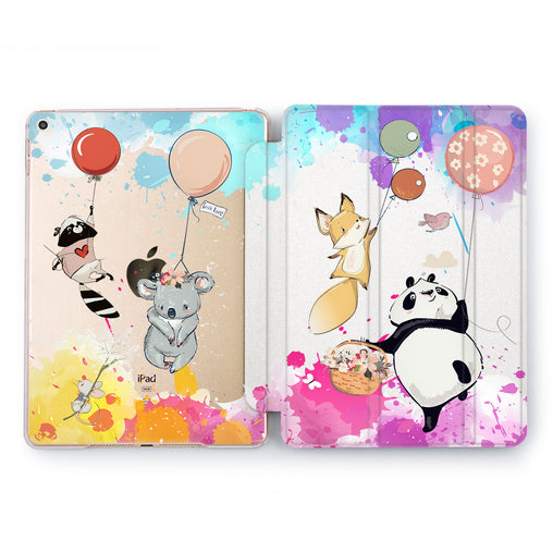 Lex Altern Cute Animals Case for your Apple tablet.