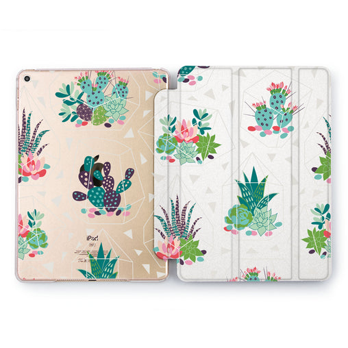 Lex Altern Cute Cactus Case for your Apple tablet.