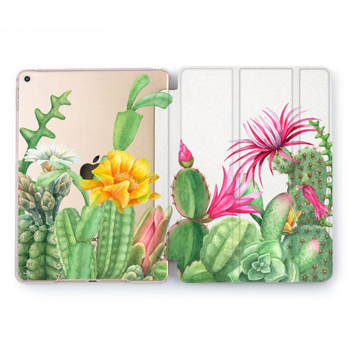 Lex Altern Cactus Print Case for your Apple tablet.