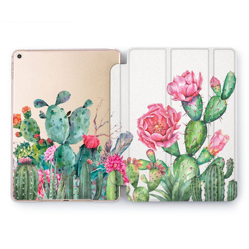 Lex Altern Flower Cacti Case for your Apple tablet.
