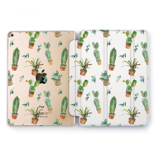 Lex Altern Cactus In A Can Case for your Apple tablet.