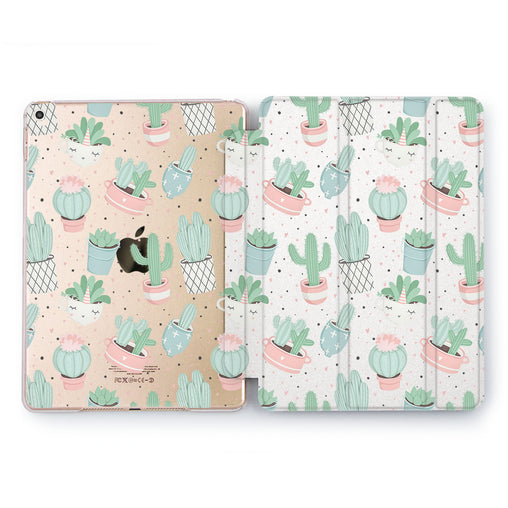 Lex Altern Cactus Pattern Case for your Apple tablet.