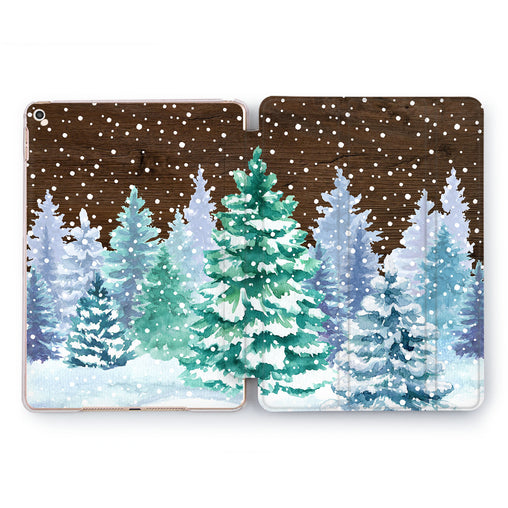 Lex Altern Winter Forest Case for your Apple tablet.