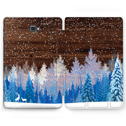 Lex Altern Snow Forest Case for your Samsung Galaxy tablet.
