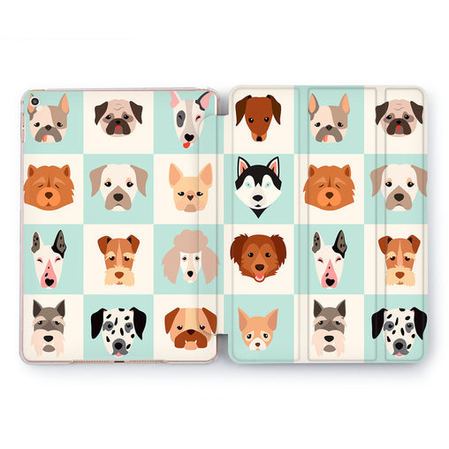 Lex Altern Doggy Pattern Case for your Apple tablet.