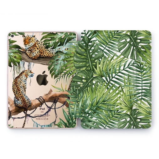 Lex Altern Tropical Cheetah Case for your Apple tablet.
