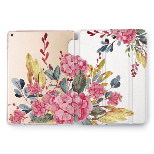 Lex Altern Rose Gold Bouquet Case for your Apple tablet.