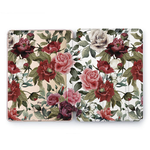 Lex Altern Red Roses Case for your Apple tablet.