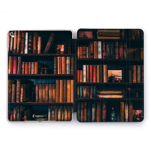 Lex Altern Book Shelf Case for your Apple tablet.
