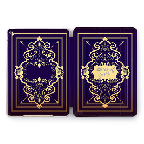 Lex Altern Book Of Spell Case for your Apple tablet.