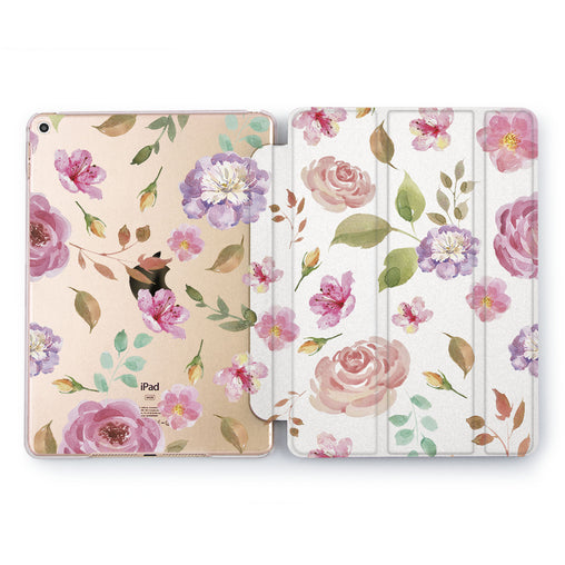 Lex Altern Flower Pattern Case for your Apple tablet.