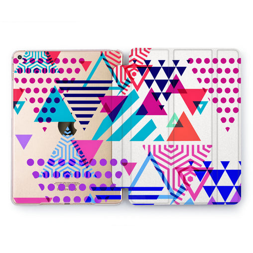 Lex Altern Abstract Triangle Case for your Apple tablet.