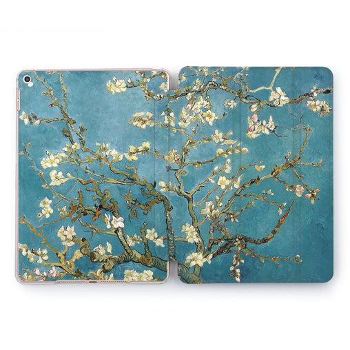 Lex Altern Almond Blossoms Case for your Apple tablet.