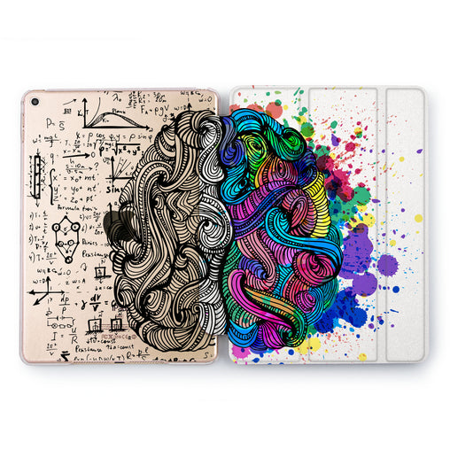 Lex Altern Art Brain Case for your Apple tablet.