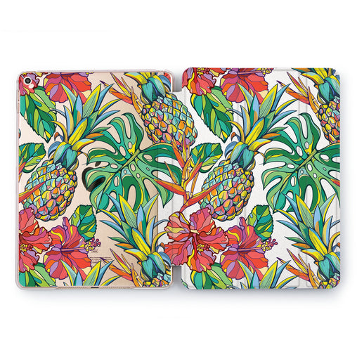 Lex Altern Bright Tropics Case for your Apple tablet.