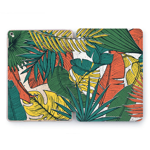 Lex Altern Colorful Fern Case for your Apple tablet.