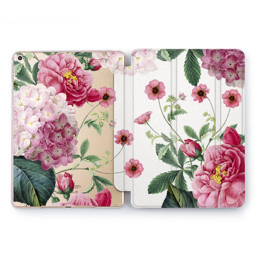 Lex Altern Colorful Peonies Case for your Apple tablet.