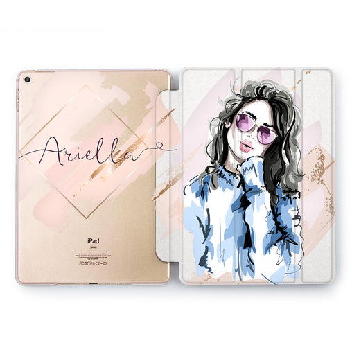 Lex Altern Cute Girl Case for your Apple tablet.
