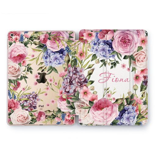 Lex Altern Floral Bouquet Case for your Apple tablet.