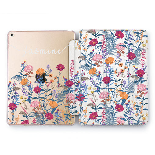 Lex Altern Custom Wildflowers Case for your Apple tablet.