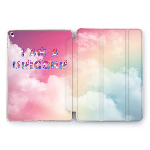 Lex Altern I Am Unicorn Case for your Apple tablet.