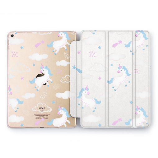 Lex Altern Flying Unicorn Case for your Apple tablet.