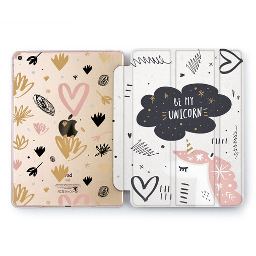 Lex Altern Be Mine Unicorn Case for your Apple tablet.