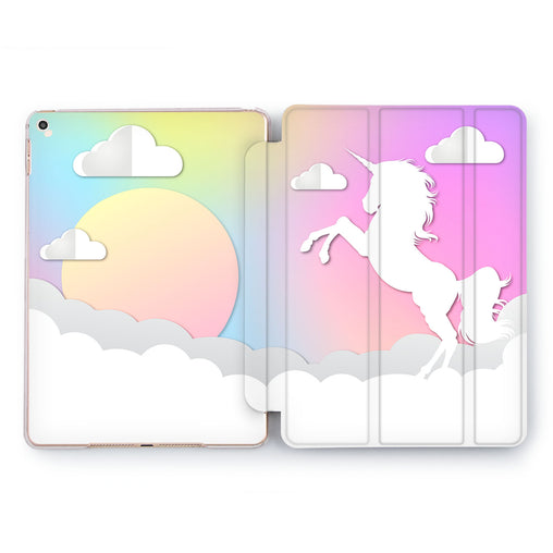 Lex Altern Unicorn Sunshine Case for your Apple tablet.