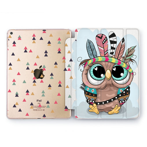 Lex Altern Cute Owl Case for your Apple tablet.