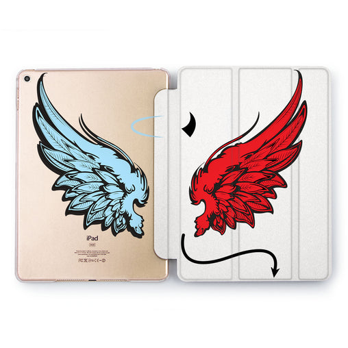 Lex Altern Devil and Angel Case for your Apple tablet.