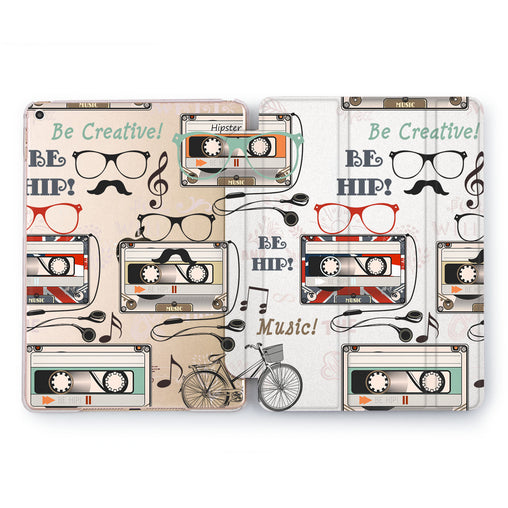 Lex Altern Be Creative Case for your Apple tablet.