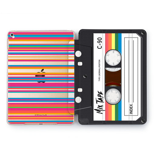 Lex Altern Colorful Tape Case for your Apple tablet.