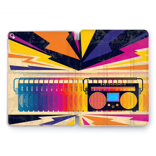 Lex Altern Disco Player Case for your Apple tablet.
