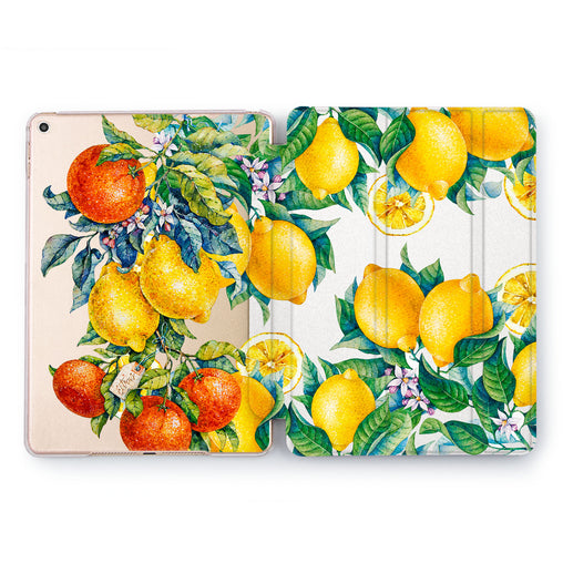 Lex Altern Citrus Tree Case for your Apple tablet.