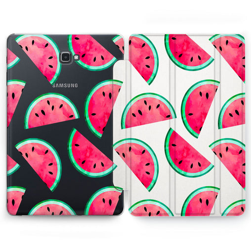 Lex Altern Watermelon Pattern Case for your Samsung Galaxy tablet.