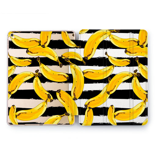 Lex Altern Banana Pattern Case for your Apple tablet.