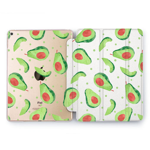 Lex Altern Avocado Half Case for your Apple tablet.
