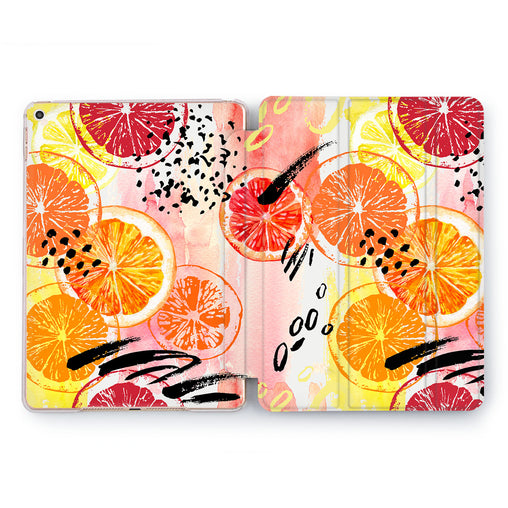 Lex Altern Citrus Pattern Case for your Apple tablet.