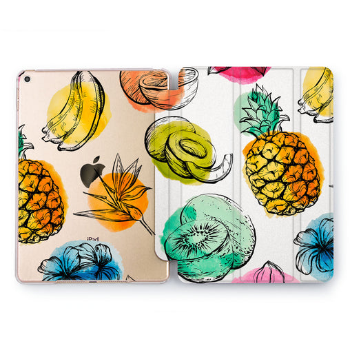 Lex Altern Fruit Drops Case for your Apple tablet.