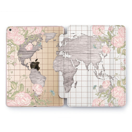 Lex Altern Floral World Case for your Apple tablet.