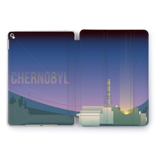 Lex Altern Chernobyl Drawn Case for your Apple tablet.