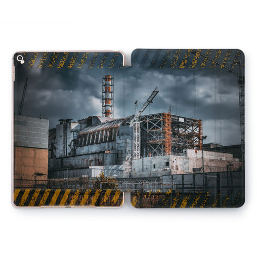 Lex Altern Chernobyl Station Case for your Apple tablet.