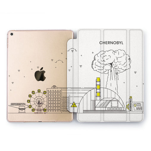 Lex Altern Chernobyl Minimalism Case for your Apple tablet.