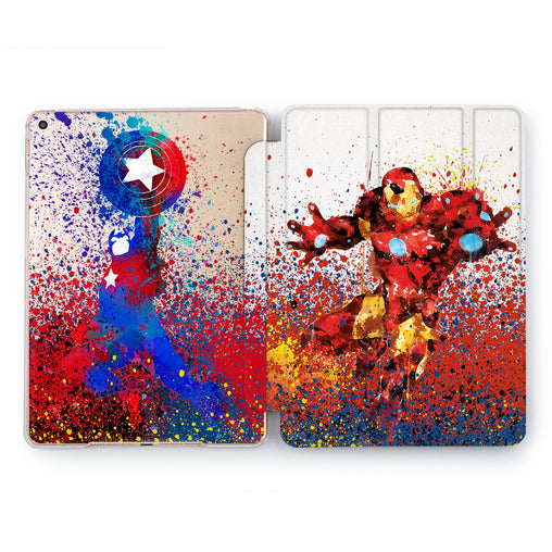 Lex Altern Superheroes iPad Case for your Apple tablet.