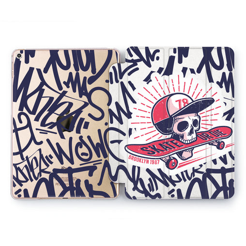 Lex Altern Skate or die Case for your Apple tablet.