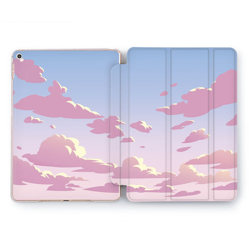 Lex Altern Floating Clouds Case for your Apple tablet.